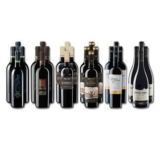 """Weinsammlung """"Die kleine Rotwein-Sammlung Winter 2017"""", 24 Flaschen Wenn Sie einen kleinen, gut gewählten Weinvorrat anlegen möchten, ist dies jetzt besonders leicht."""