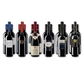 """Weinsammlung """"Die kleine Rotwein-Sammlung für anspruchsvolle Geniesser Winter 2017"""", 24 Flaschen Wenn Sie einen kleinen, gut gewählten Weinvorrat anlegen möchten, ist dies jetzt besonders leicht."""