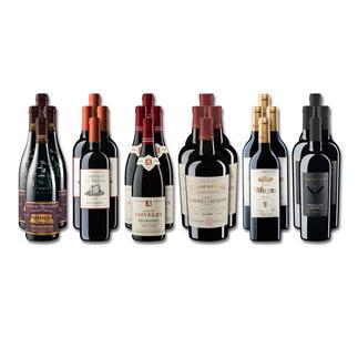 """Weinsammlung """"Die kleine Rotwein-Sammlung für anspruchsvolle Geniesser Frühjahr 2019"""", 24 Flaschen Wenn Sie einen kleinen, gut gewählten Weinvorrat anlegen möchten, ist dies jetzt besonders leicht."""