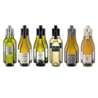 """Weinsammlung """"Die kleine Weisswein-Sammlung Frühjahr/Sommer 2019"""", 24 Flaschen Wenn Sie einen kleinen, gut gewählten Weinvorrat anlegen möchten, ist dies jetzt besonders leicht."""