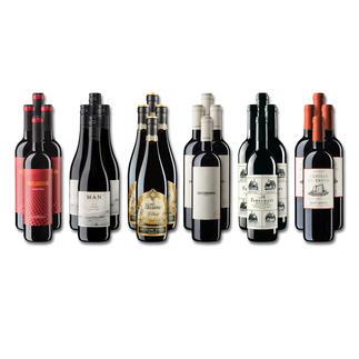 """Weinsammlung """"Die kleine Rotwein-Sammlung Frühjahr/Sommer 2019"""", 24 Flaschen Wenn Sie einen kleinen, gut gewählten Weinvorrat anlegen möchten, ist dies jetzt besonders leicht."""