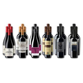 """Weinsammlung """"Die kleine Rotwein-Sammlung für anspruchsvolle Geniesser Winter 2019"""", 24 Flaschen Wenn Sie einen kleinen, gut gewählten Weinvorrat anlegen möchten, ist dies jetzt besonders leicht."""