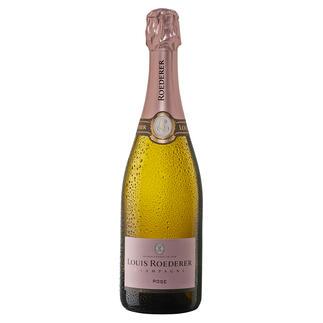 """Roederer Brut Rosé, Louis Roederer, Champagne, Frankreich """"Fein gewebt, delikat und rassig."""" (Wine Spectator über den Jahrgang 2009, www.winespectator.com)"""