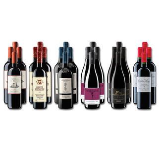 Weinsammlung - Die kleine Rotwein-Sammlung für anspruchsvolle Geniesser Sommer 2020, 24 Flaschen Wenn Sie einen kleinen, gut gewählten Weinvorrat anlegen möchten, ist dies jetzt besonders leicht.
