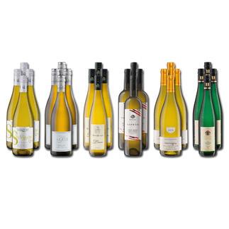 Weinsammlung - Die kleine Weisswein-Sammlung Winter 2020, 24 Flaschen Wenn Sie einen kleinen, gut gewählten Weinvorrat anlegen möchten, ist dies jetzt besonders leicht.