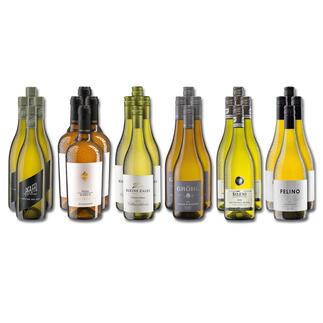 Weinsammlung - Die kleine Weisswein-Sammlung Frühjahr 2021, 24 Flaschen Wenn Sie einen kleinen, gut gewählten Weinvorrat anlegen möchten, ist dies jetzt besonders leicht.
