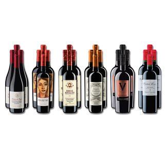 Weinsammlung - Die kleine Rotwein-Sammlung für anspruchsvolle Geniesser Frühjahr 2021, 24 Flaschen Wenn Sie einen kleinen, gut gewählten Weinvorrat anlegen möchten, ist dies jetzt besonders leicht.