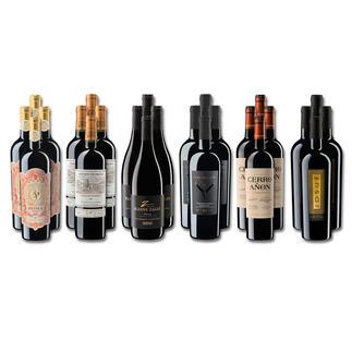 Weinsammlung - Die kleine Rotwein-Sammlung für anspruchsvolle Geniesser Frühjahr/Sommer 2021, 24 Flaschen Wenn Sie einen kleinen, gut gewählten Weinvorrat anlegen möchten, ist dies jetzt besonders leicht.