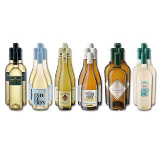 Weinsammlung - Die kleine Weisswein-Sammlung Sommer 2021, 24 Flaschen Wenn Sie einen kleinen, gut gewählten Weinvorrat anlegen möchten, ist dies jetzt besonders leicht.