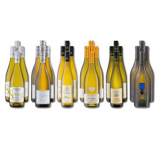 Weinsammlung - Die kleine Weisswein-Sammlung Winter 2021, 24 Flaschen Wenn Sie einen kleinen, gut gewählten Weinvorrat anlegen möchten, ist dies jetzt besonders leicht.