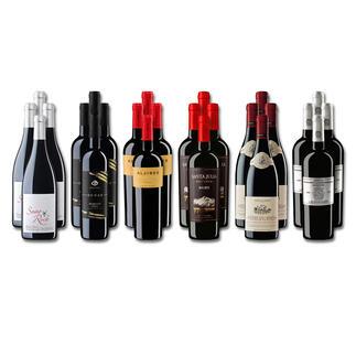 Weinsammlung - Die kleine Rotwein-Sammlung Winter 2021, 24 Flaschen Wenn Sie einen kleinen, gut gewählten Weinvorrat anlegen möchten, ist dies jetzt besonders leicht.