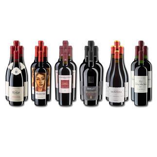 Weinsammlung - Die kleine Rotwein-Sammlung für anspruchsvolle Geniesser Frühjahr 2022, 24 Flaschen Wenn Sie einen kleinen, gut gewählten Weinvorrat anlegen möchten, ist dies jetzt besonders leicht.