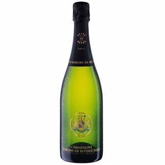 Barons de Rothschild Champagner Brut Cuvée, Champagne, Frankreich Der Champagner der drei Barone.