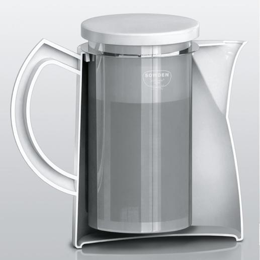 Zum Reinigen entnehmen Sie den Filter aus 18/8-Edelstahl ganz leicht mit einem Griff.