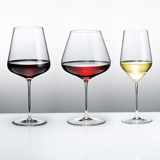 Zalto Denk'Art Weissweinglas, Bordeauxglas oder Burgunderkelch Die Weingläser namhaftester Glashütten im Profi-Test: Dies sind die Sieger.