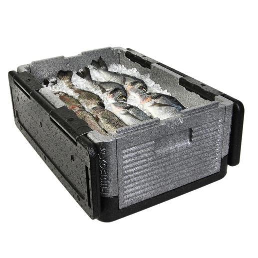 In der 39-l-Box bringen Sie Torten, Salate, Grillgut, ... Ihren Grosseinkauf oder bis zu 30 Getränkeflaschen à 0,5 l unter.