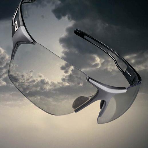 … bis zu 77 % bei wenig Licht. Lästiger Gläserwechsel entfällt.