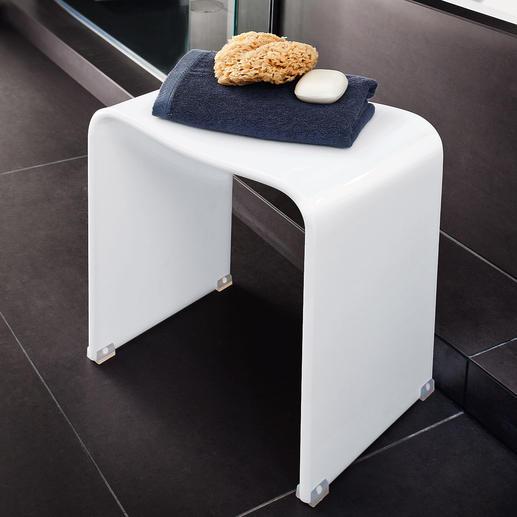Acryl-Duschhocker - Der perfekte Hocker: Elegantes Acryl-Design – unendlich vielseitig. Für jedes Ambiente.