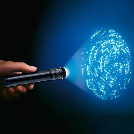 """Sternenfinder """"StarLight®"""" - Und im Freien beeindrucken Sie mit Ihrem Wissen über mehr als 440 Sterne und 27 Konstellationen."""