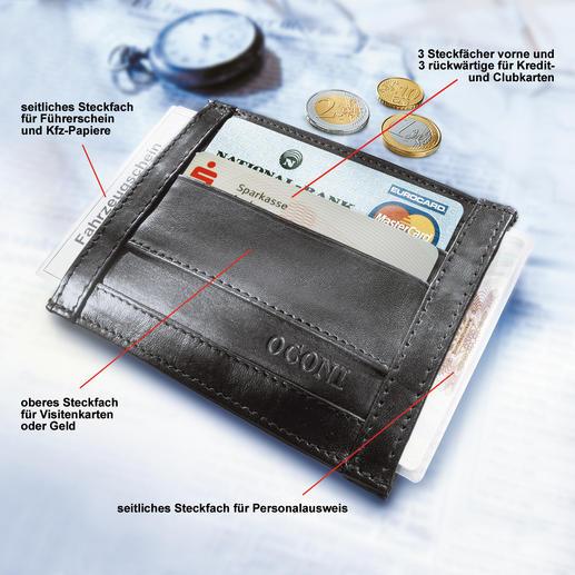 OCONI-Dokumentenbörse - Die Dokumentenbörse ist kaum grösser als eine Zigarettenschachtel.