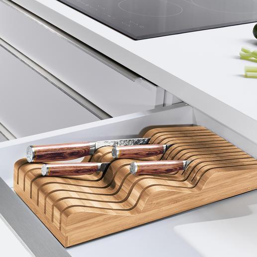 Robert Welch® Messerablage - Verwahrt bis zu 20 (!) Messer verschiedenster Form und Grösse (statt oft nur 5-6).
