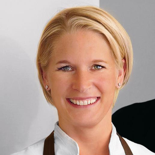 Fernsehköchin Cornelia Poletto hat bei der Entwicklung dieses Profi- Porzellans mitgewirkt.