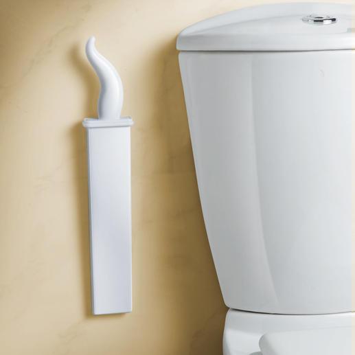 Viel diskreter als übliche WC-Bürsten.