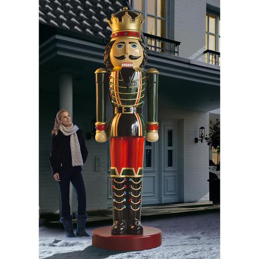 Nussknacker-König Imposante 3,60 Meter gross. Blickfang in Ihrer Einfahrt, im Garten, ...