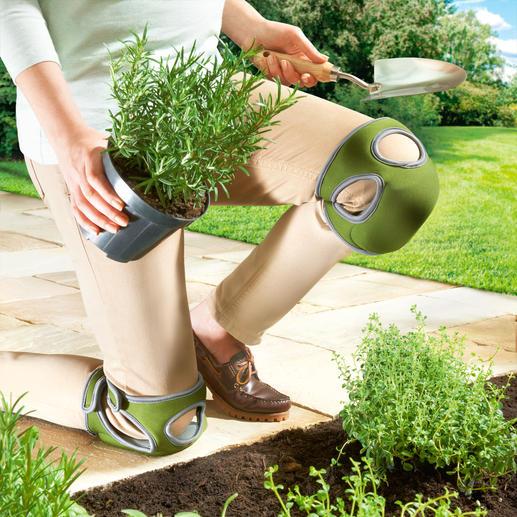 Komfort-Knieschoner Kneelo™, Paar - Komfort-Knieschoner mit Duo-Foam-Technologie: federleicht, wolkenweich und stabil zugleich.