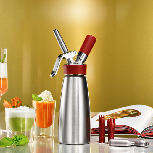 iSi Gourmet Whip - Bei Spitzenköchen weltweit im Einsatz: der Espuma-Bereiter von iSi.