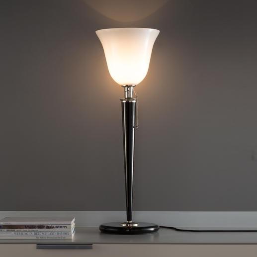 Mazda-Lampe - Authentische Reproduktion eines Art Déco-Klassikers. In Deutschland gefertigt.  Energieklasse:Leuchte A++-E.