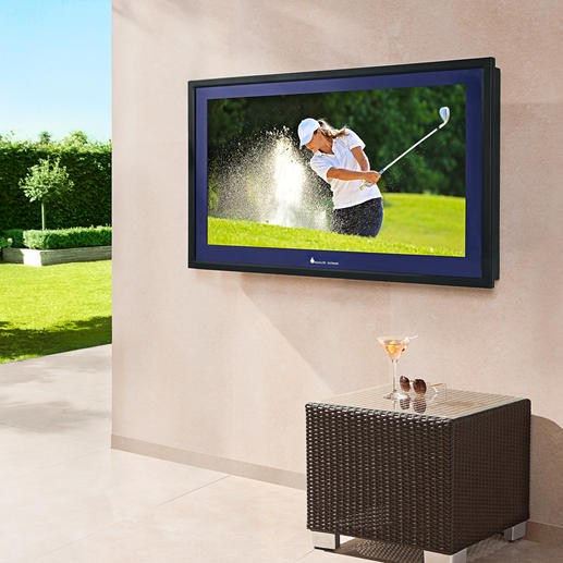 Aqualite Outdoor-Fernseher AQLH-42 - Nie mehr wegen TV-Programmen den schönen Platz im Freien verlassen …