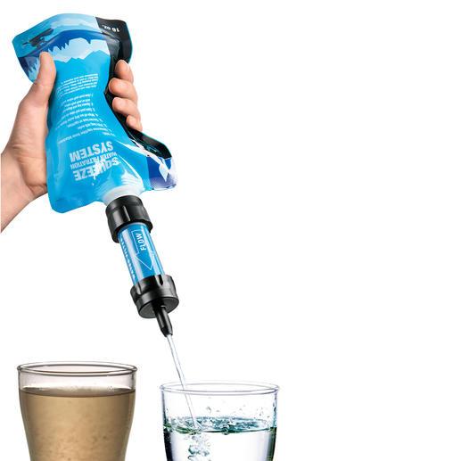 Care Plus® filtert bis zu 99,99 % aller Bakterien und Protozoen aus. Zum Schutz vor Viren bitte zusätzlich ein Chlorpräparat ins Wasser geben.
