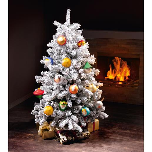 Canada Pine oder Highland Snow Pine Wie frisch aus dem Wald – natürlich schön, ein Leben lang. Der perfekte Kunst-Tannenbaum.