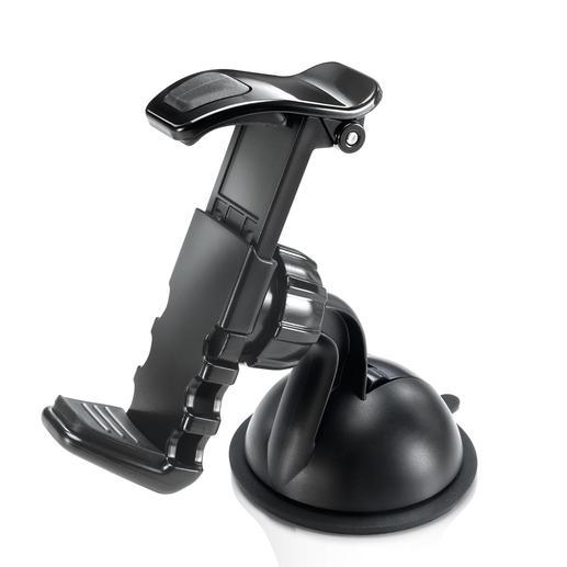 """Cliphalter """"Easymount"""" - Sicherer und viel eleganter: Navi oder Handy – weg von der Windschutzscheibe."""