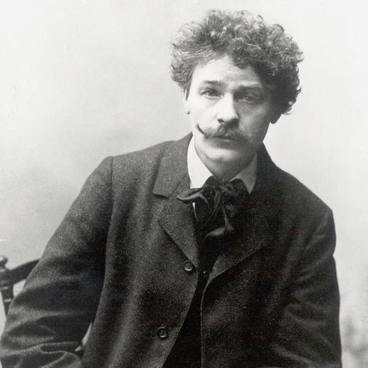Georg Arthur Jensen (1866-1935), dänischer Künstler und Silberschmied.