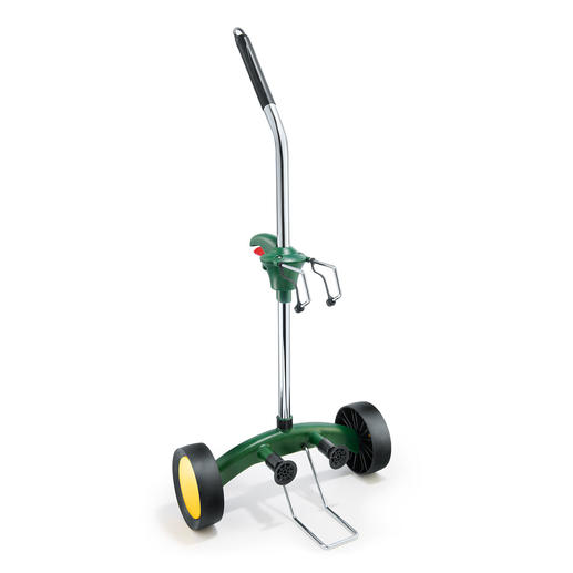Pflanzkübel-Roller - Ganz leicht rollen statt mühsam schleppen. Für Pflanzkübel, Blumen- oder auch Getränkekästen.