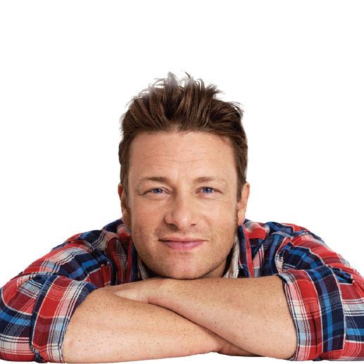 Mitentwickelt und empfohlen von Starkoch Jamie Oliver.