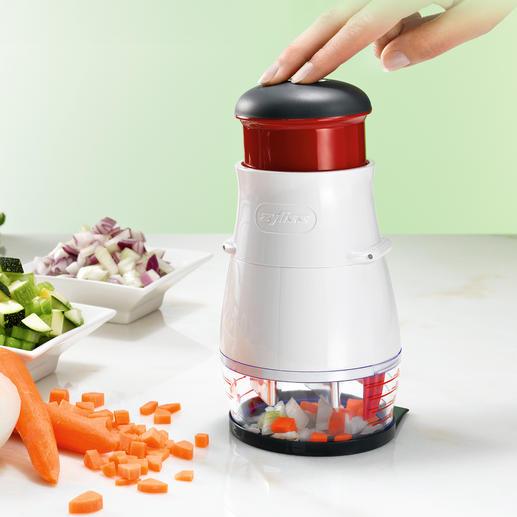 Zyliss Gemüsehacker - Noch gleichmässiger, noch schneller, noch leichter zu reinigen.