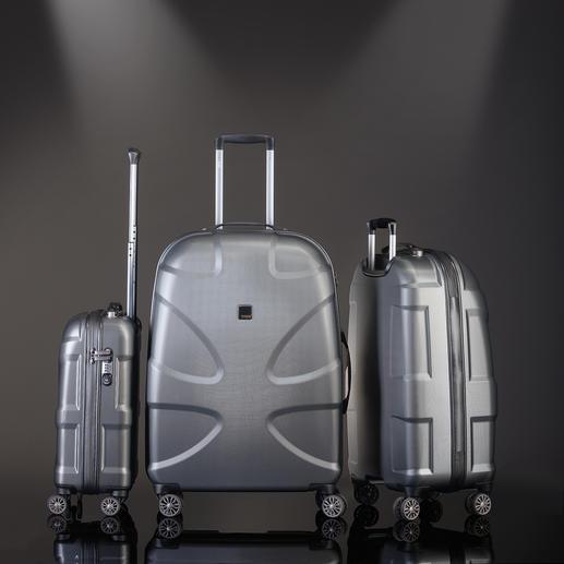 Titan Makrolon®-Trolley - Makrolon®-Polycarbonat mit Sharkskin-Oberfläche. Leicht, dabei extrem schlag- und kratfest. Von TITAN®, Hamburg.
