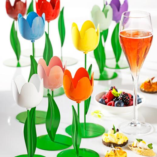 Metall-Tulpen Ein farbenfrohes Blütenmeer für Ihre Tischdekoration, den Eingangsbereich, Balkon, …