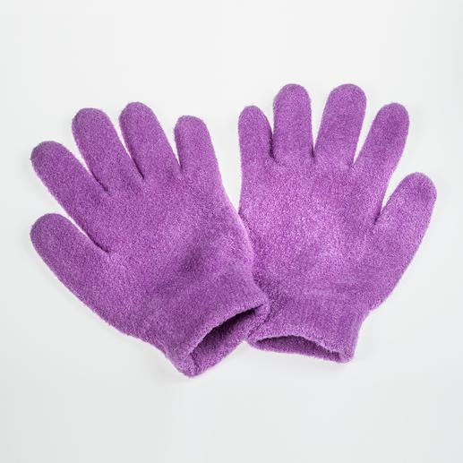 Diese Handschuhe schenken Ihren Händen pflegendes Jojoba und erfrischenden Lavendel.