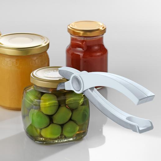 Glaskonserven-Öffner - Ganz leicht öffnen Sie jetzt jede Glaskonserve. Und der Deckel bleibt intakt und kann wieder verwendet werden.