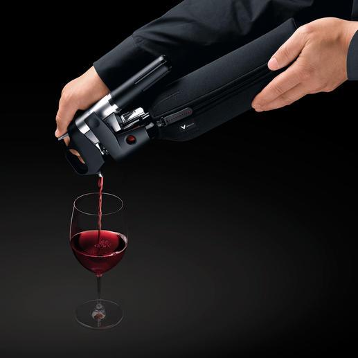 Coravin™ Ein Glas Wein geniessen, verkosten, servieren, ohne die Flasche zu öffnen? Jetzt ja.