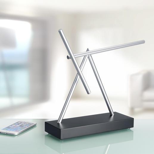 Swinging Sticks - Die Faszination eines Perpetuum mobile – auf Ihrem Schreibtisch oder Sideboard.