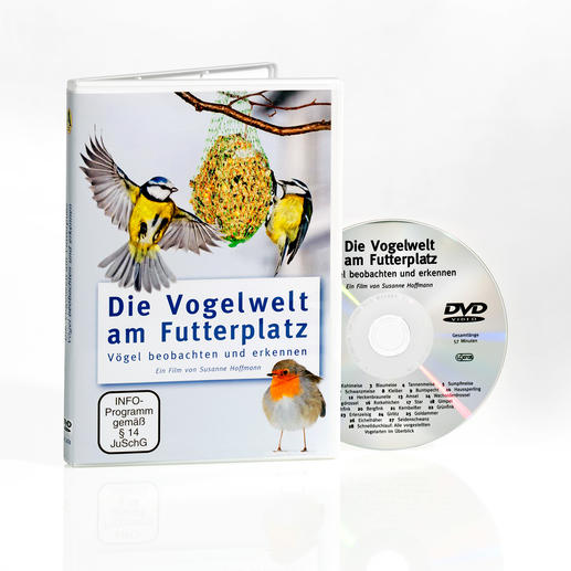 """DVD """"Die Vogelwelt am Futterplatz"""" - Gute Neuigkeiten auch für Vogelfreunde."""