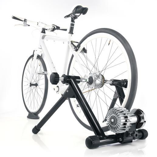 Fluid-Rollentrainer JHK-20674 Moderner Radtrainer mit hydro-dynamischem Fluid-Widerstand (statt Bremse).