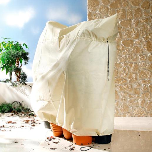 Mit den grösseren Pflanzen-Säcken können Sie leicht auch mehrere Kronen schützen.