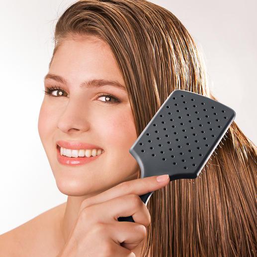 WetBrush® Paddle Brush - Schluss mit Ziepen, Verknoten, Reissen bei frisch gewaschenem Haar.
