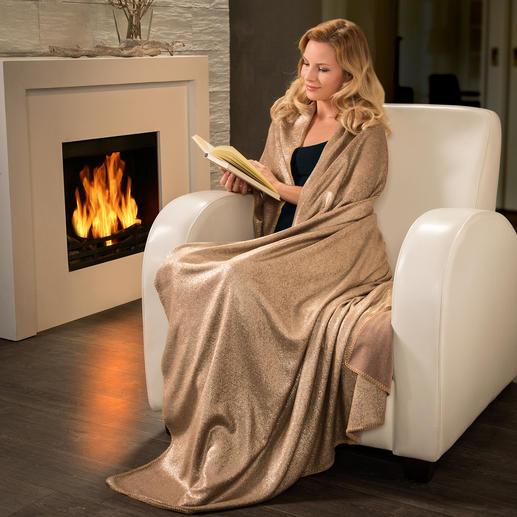 Metallic-Plaid - Trendiger Blickfang auf Ihrer Couch, dem Lieblingssessel, Loungebed, ...